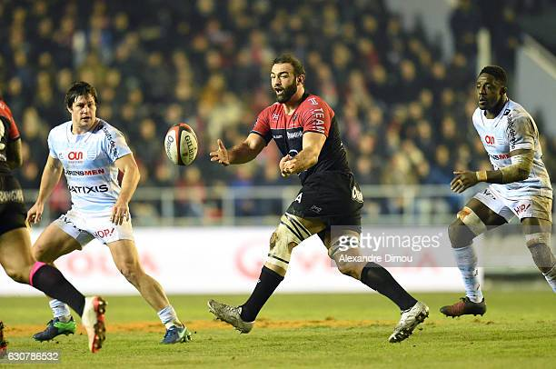 Mamuka Gorgodze of Toulon during the rugby Top 14 match between RC Toulon and Racing 92 at Felix Mayol Stadium on January 1 2017 in Toulon France