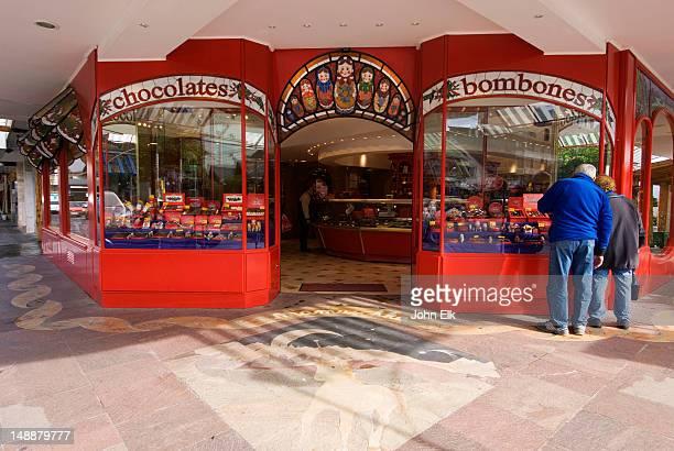 Mamuschka chocolate shop.