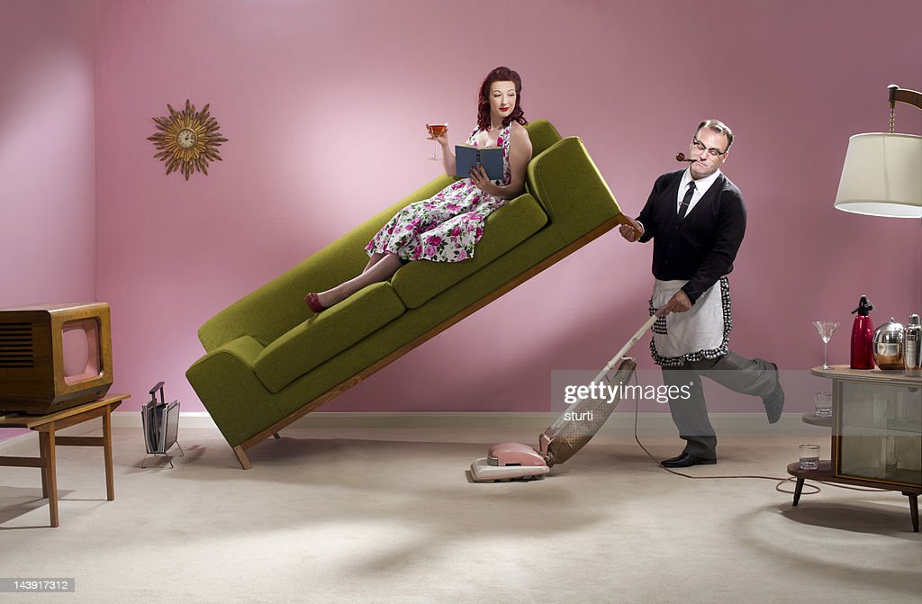 man about the house : Stock Photo