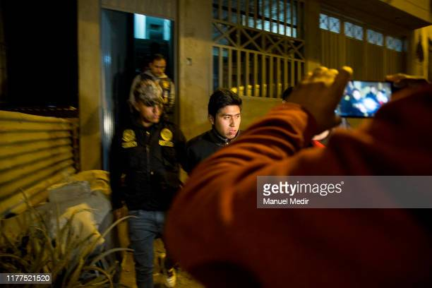 Man accused of prostituting minors is arrested during a special operation by the Human Trafficking and Smuggling of Migrants Division of the Peruvian...