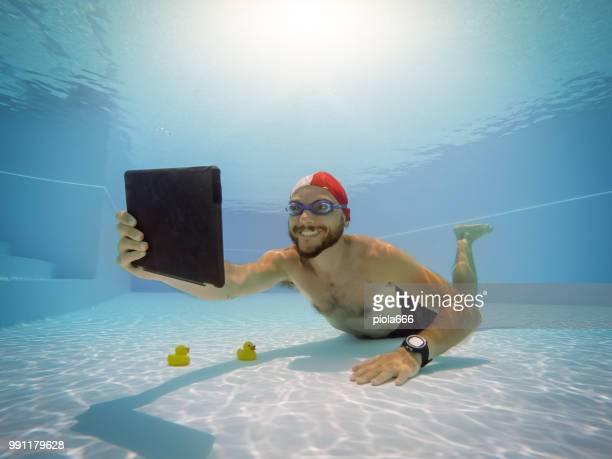 Man addicted to smart phone activity