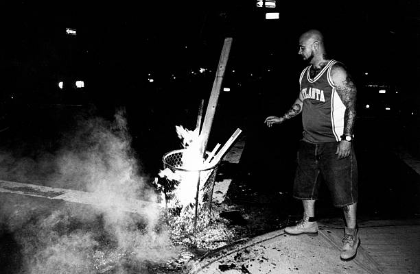 Man adding fuel to the fire new york black out 2003 pictures getty man adding fuel to the fire new york black out 2003 publicscrutiny Images