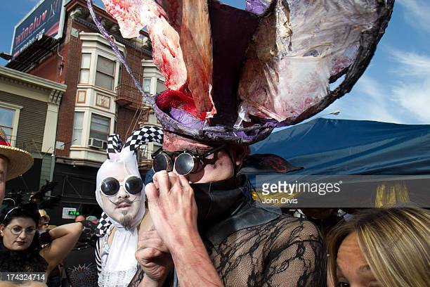 CONTENT] A man adjusts his face mask at the 2012 Folsom St Fair 29 September 2012 San Francisco CA <a href=http//wwwjohnorviscom...