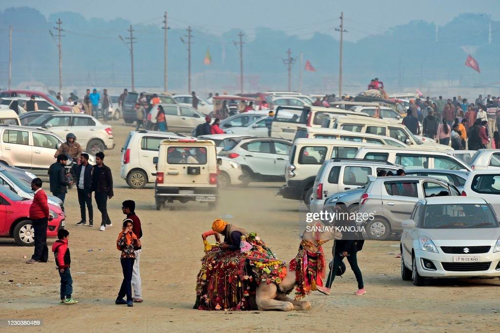 INDIA-NEW YEAR : News Photo