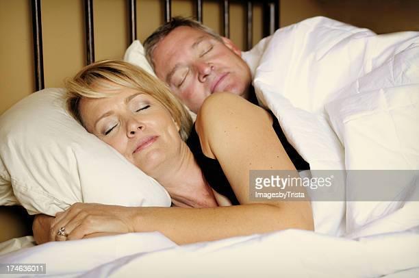 Schlafen zusammen