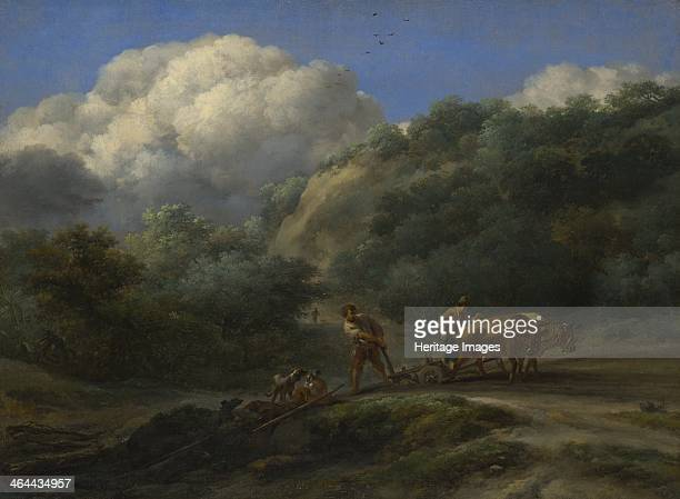 A Man and a Youth ploughing with Oxen c 1650 Found in the collection of the National Gallery London