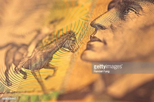 Man and Horse on Australian Dollar