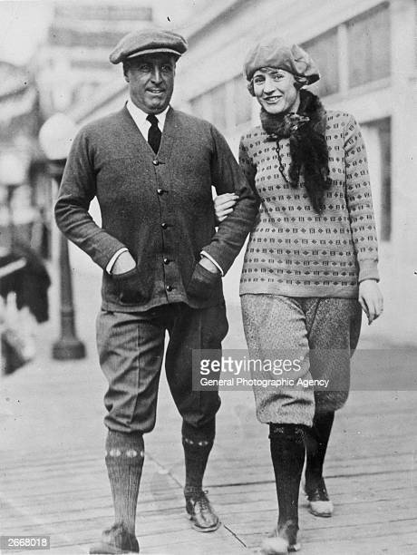 A man and woman arm in arm both wearing knee length trousers or knickerbockers A referendum in Reedy West Virginia has come out in favour of women...