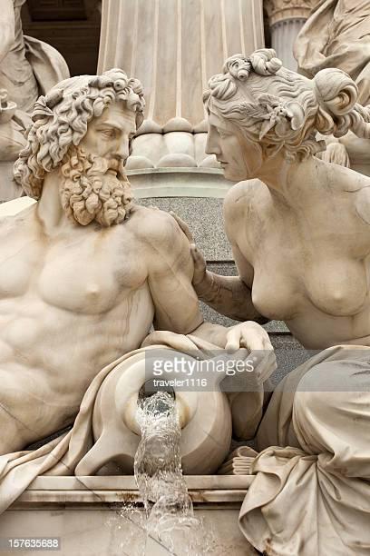 Mann und Frau ein Gespräch
