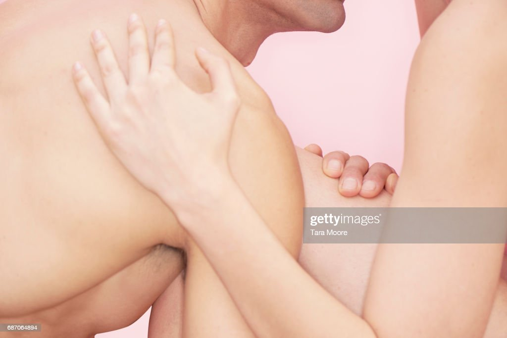 man and woman in embrace : Stock Photo