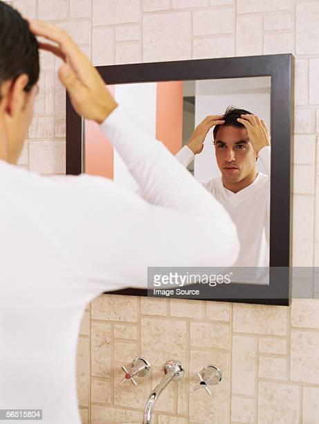 Man 適用ヘアジェルのバスルーム