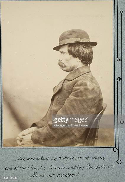 Man arrested on suspicion of being one of the Lincoln Assassination Conspirators identified as Joao Celestino Later cleared this photo was taken on...