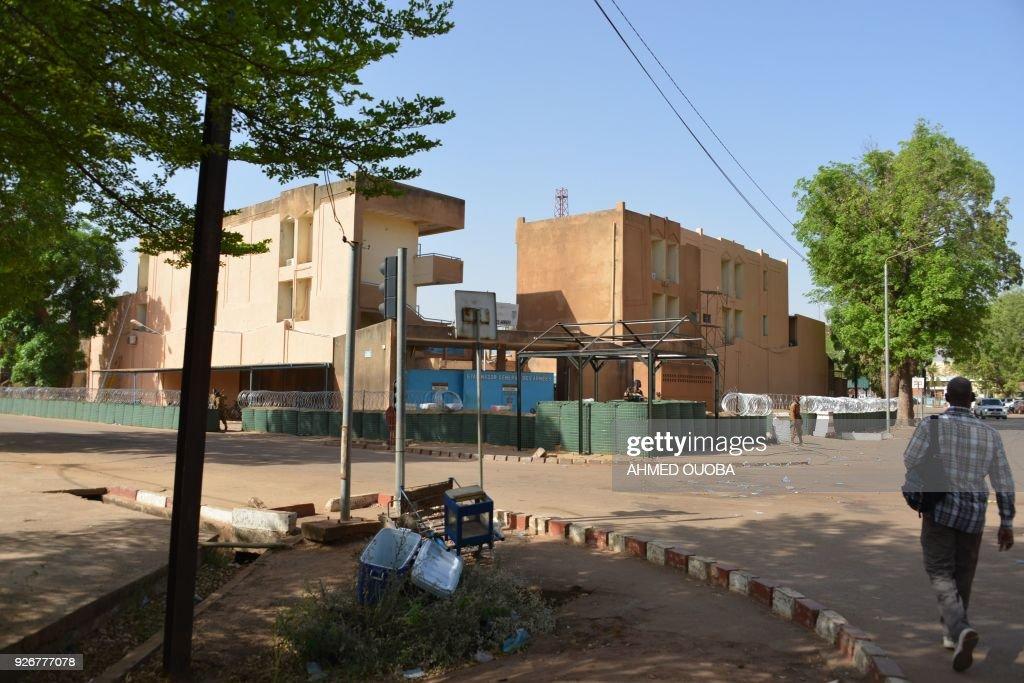 BURKINA-FASO-FRANCE-UNREST : News Photo