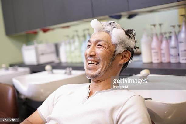Man at Barbers