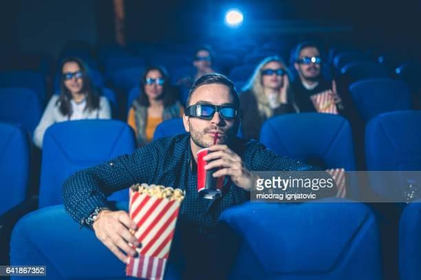 Mann am Filme