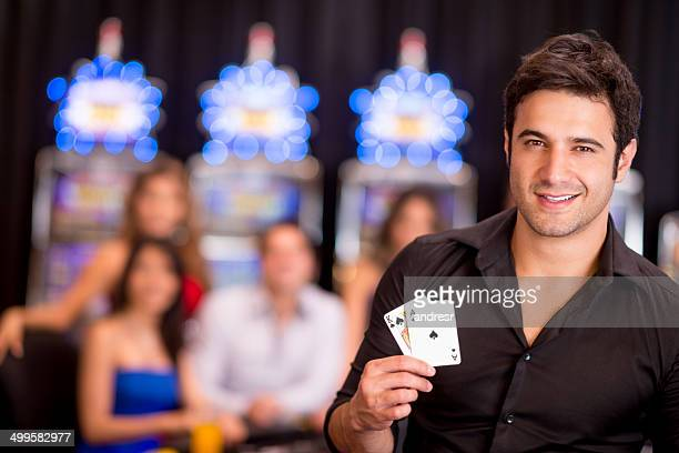 Man at the casino