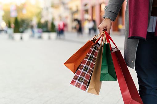 Man at the shopping 868718238