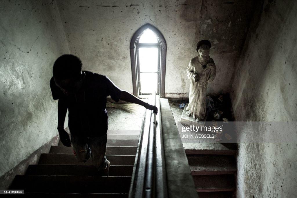 DRCONGO-UNREST-CHURCH : News Photo