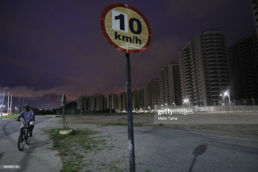 Rio's Olympic Venues Mostly Abandoned 7 Months After Games : News Photo