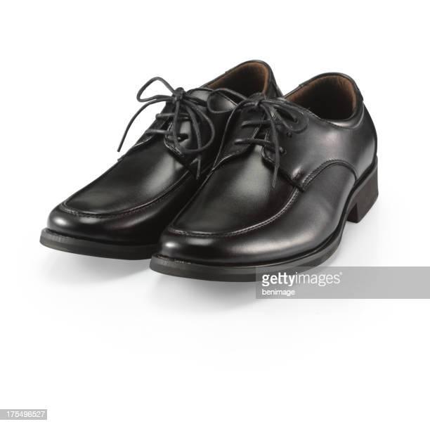 man black shoe