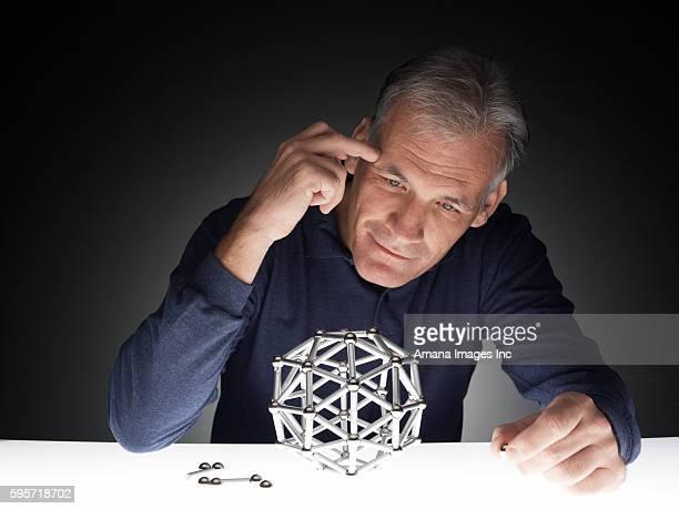 Man Building Polyhedron