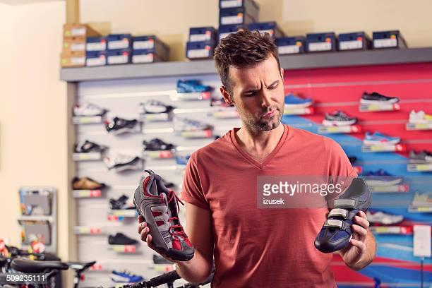Homme acheter Chaussures de cycliste