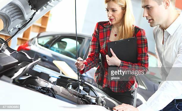 Man buying new car.