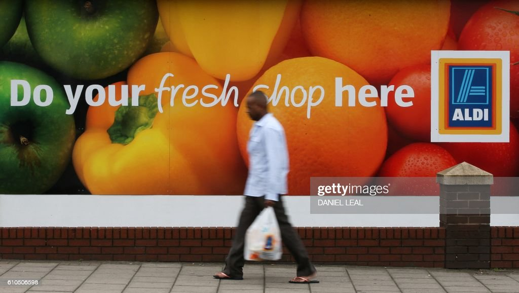 BRITAIN-GERMANY-EU-RETAIL-INVESTMENT-BUSINESS-ALDI : News Photo