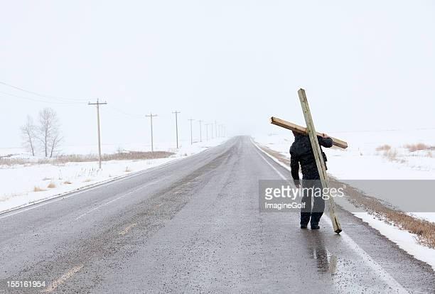 Mann mit dem Kreuz