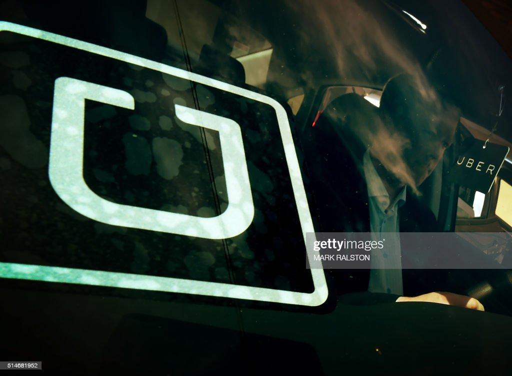 US-TRANSPORT-ECONOMY-UBER : News Photo
