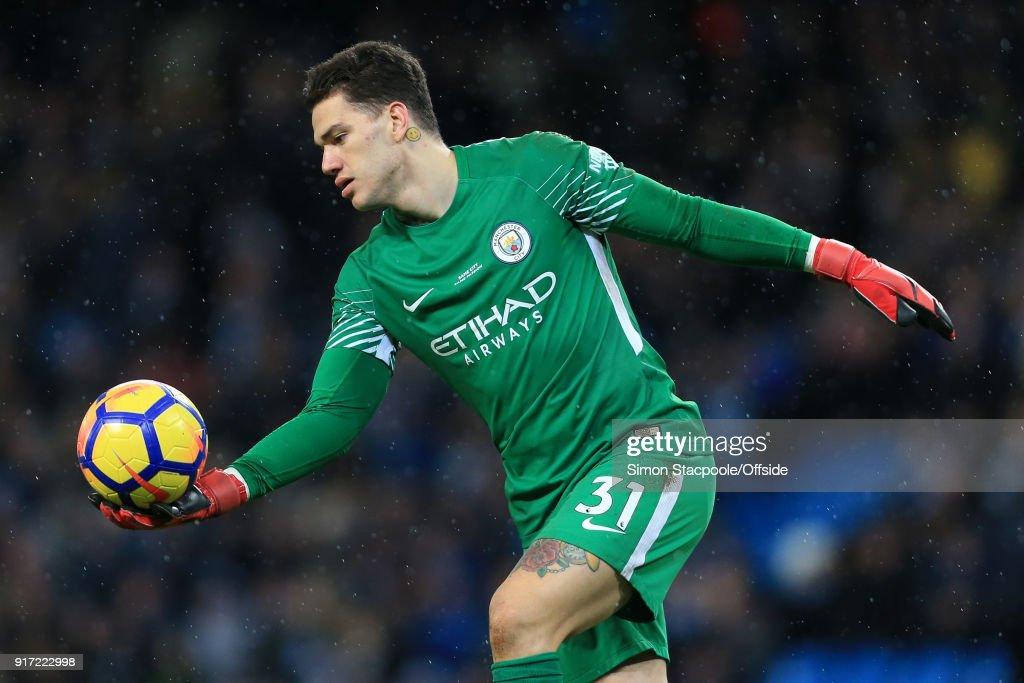 Manchester City v Leicester City - Premier League : Foto di attualità