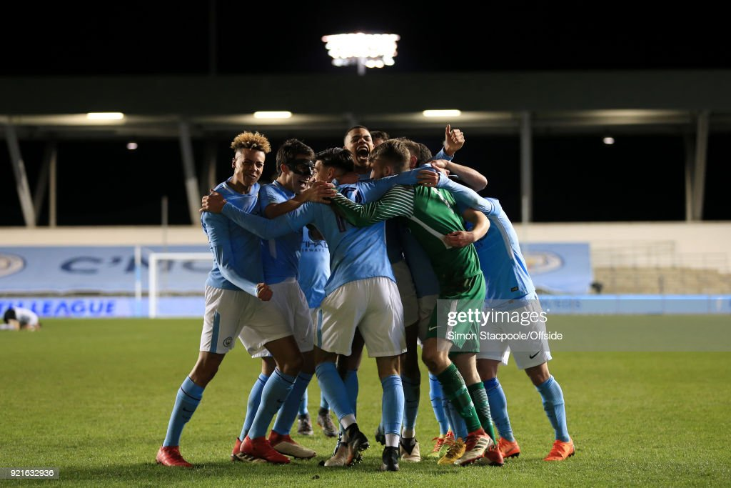 Manchester City v FC Internazionale Milano - UEFA Youth League : Foto di attualità