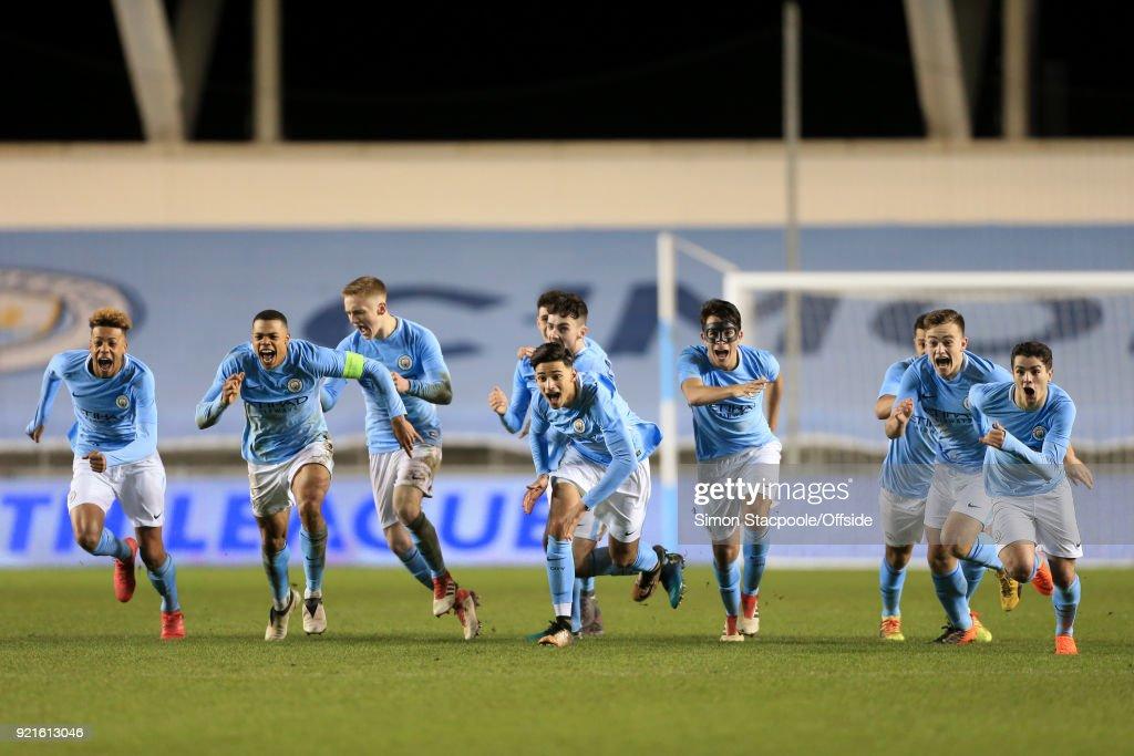Manchester City v FC Internazionale Milano - UEFA Youth League : Foto di attualità