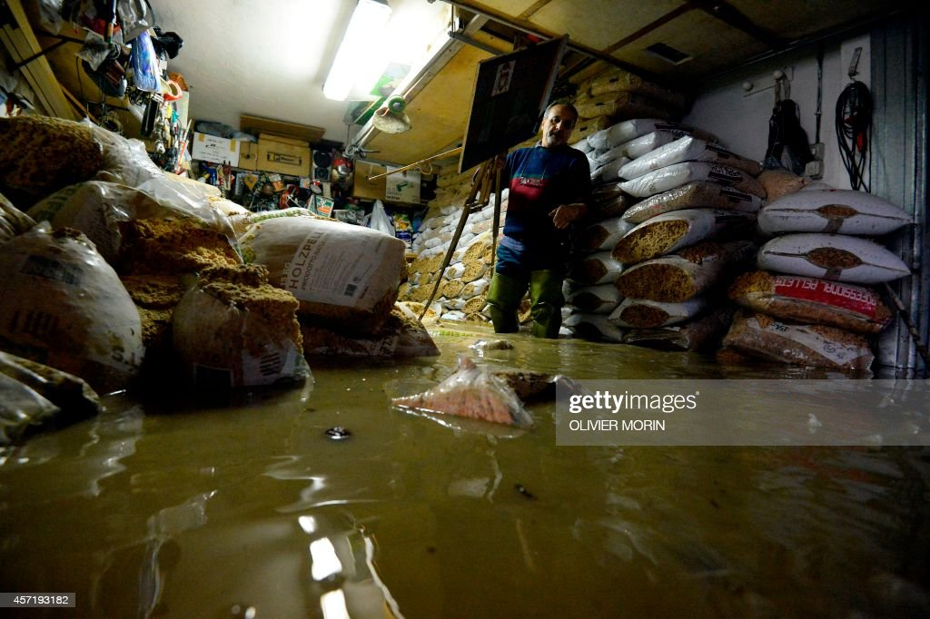 ITALY-WEATHER-FLOODS : News Photo
