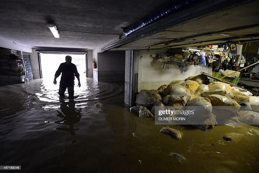 ITALY-WEATHER-FLOODS : News Photo