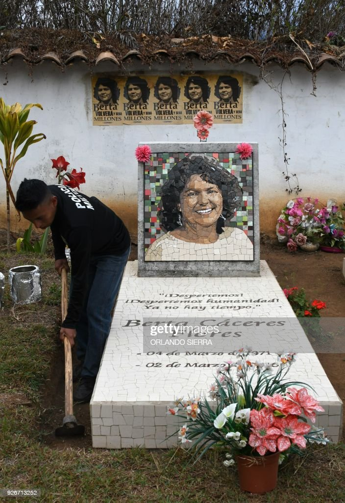 HONDURAS-CACERES-ANNIVERSARY : News Photo