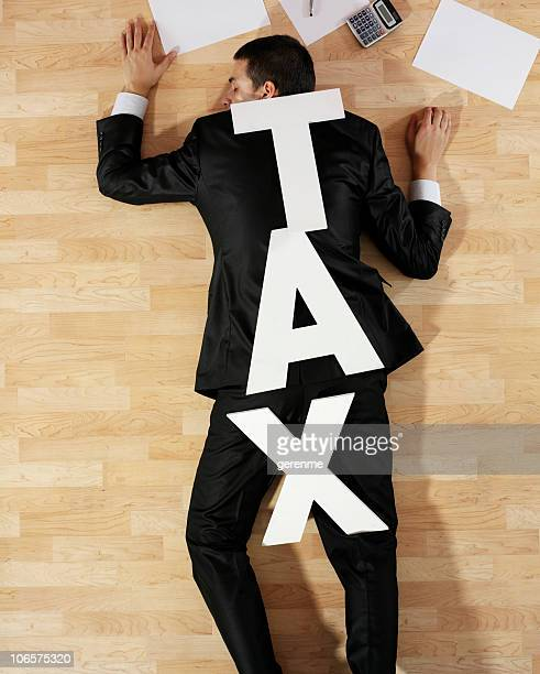 Man crushed by tax