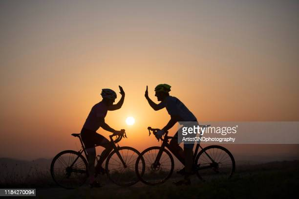 man cycling outdoors - pedal stock pictures, royalty-free photos & images