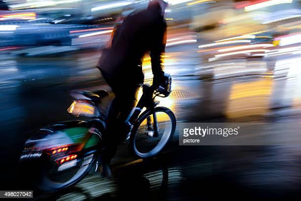 Mann Radfahren