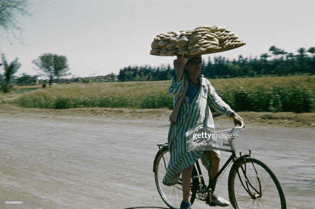 Egypt Delivery Man : Foto di attualità