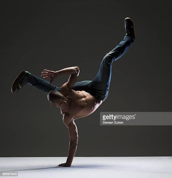 man doing dance move