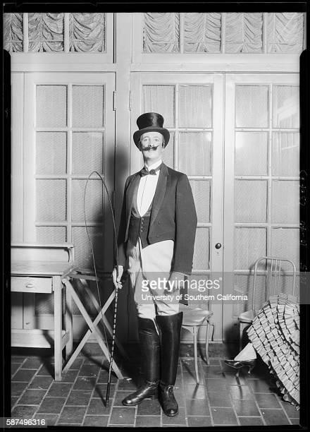 Man dressed as Lion Tamer twentieth century