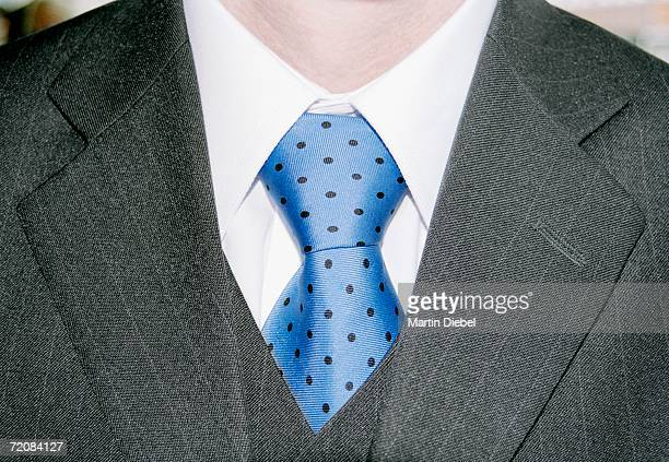 man dressed in full suit with shirt and tie - pinstripe stock pictures, royalty-free photos & images