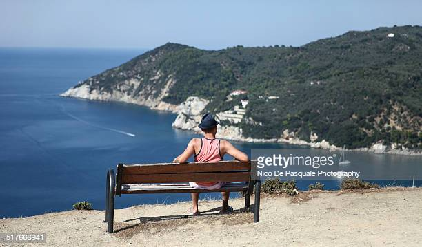 Man enjoying view