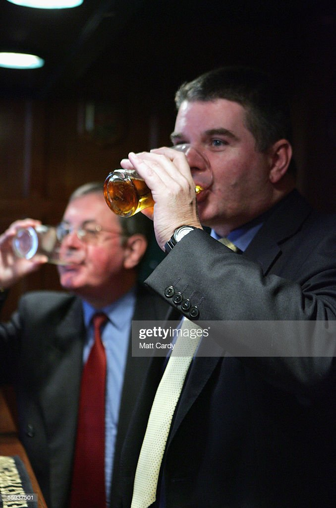 A man enjoys a drink in the Harrington Club, a traditional gentlemans club in Bath on October 15, 2005 in Bath, England. Pubs and clubs preparing for the new Licensing laws due to come into force on November 24 2005, which will allow pubs and clubs longer and more flexible opening hours.Opponents of the law believe this will lead to more binge-drinking with increased alcohol related crime, violence and disorder while health experts fear an increase in alcohol related illnesses and alcoholism.