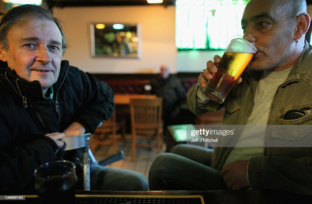 A man enjoys a pint of lager in a pub near Duke Street on November 10, 2010 in Glasgow, Scotland. MSP's are set to vote on the SNP government's Alcohol Bill aimed at tackling Scotland's drinking problems. The bill, if it is passed, will see an end to irresponsible drink promotions and will require licensed premises to operate an age verification policy.