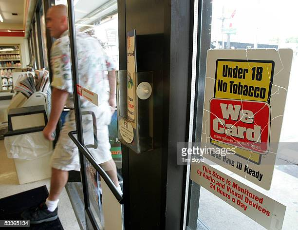 A man enters a franchised 7Eleven store August 12 2005 in Chicago Illinois It has been reported that the Dallas Texas based 7Eleven has signed an...