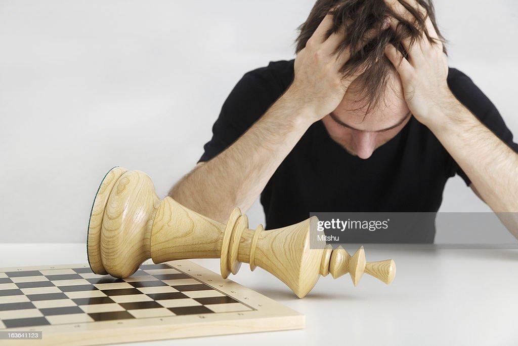 Man Failed : Stock Photo