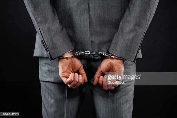 男性気分が滞った企業 - 逮捕 ストックフォトと画像