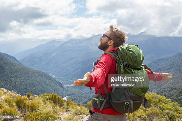 Man finds freedom and success in nature